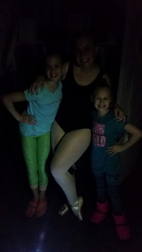 That one time we danced in the dark.